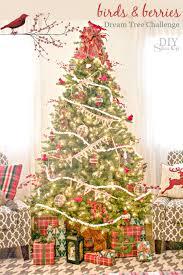 birds and berries christmas tree michaelsmakers diyshowoff dream tree challenge michaels