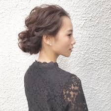 清楚で簡単なヘアアレンジミディアムロング Hair