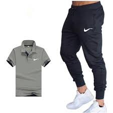Shirts With Pants Us 8 49 40 Off Classic Brand Summer Hot Sale Mens Sets Polo Shirts Pants Two Pieces Sets Casual Tracksuit Mens Polo Shirt Gyms Fitness Suit In