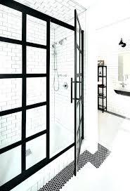 shower door frame captivating shower door frame black framed shower doors impressive steel frame enclosure transitional shower door frame