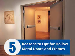 top 5 reasons to opt for hollow metal doors and frames