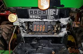 john deere 2520 fuse box on wiring diagram library help can u0027t fuse panel cover replacement 4105john deere 2520