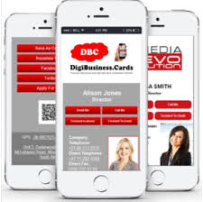 Digital Business Card Digital Business Card Digi Business Cards