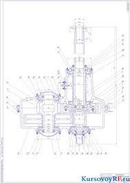 Курсовая разработка конструкции редуктора Чертеж главный редуктор вертолета в разрезе Чертеж главный редуктор вертолета