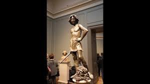 David (and Goliath) by Andrea del Verrocchio - YouTube