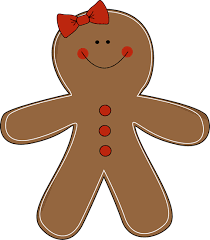 gingerbread woman. Wonderful Woman With Gingerbread Woman