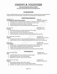 Resume No Experience Template Beautiful Unique Resume Tutor Luxury