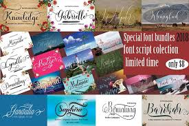 collage fonts free font bundles page 2 the best free and premium font bundles
