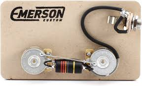 emerson custom prewired kit for gibson les paul junior sweetwater emerson custom prewired kit for gibson les paul junior