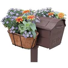 Flower Garden Mailbox Planter - Free Shipping On Orders Over $45 -  Overstock.com - 13984480