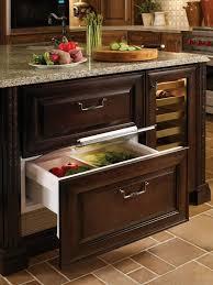 refrigerator drawers. sub-zero 700br - kitchen view refrigerator drawers