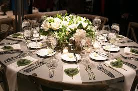 Round Table Settings For Weddings 24 Round Table Setting 54 Table Settings For Round Tables
