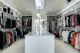 walk in wardrobes designs big walk in closet with skylight window and center island walk in