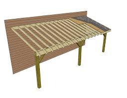 lean to roof construction plans details