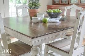 best finish for a kitchen table chalk paint kitchen table one of the greatest things