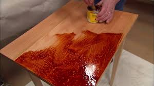 How To Finish A Wood Table Ask This Old House Youtube