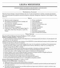 university professor resume example associate sample education project  manager assistant format for fresher