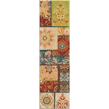 orian rugs bright color paisley pasha multi runner 2 3