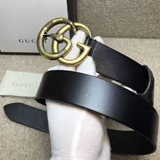 gucci black leather belt with double g buckle with snake