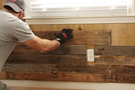 diy pallet accent wall owner builder network