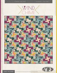 Free Quilting Patterns - Art Gallery Fabrics - Download your ... & Wind Chime Quilt by Maureen Cracknell Adamdwight.com