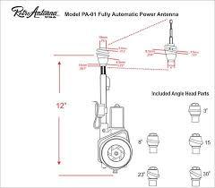 fully automatic power antenna retrosound fully automatic power antenna retro manufacturing 4