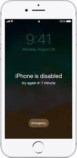 ios11 iphone7 lock screen iphone disabled