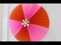 diy crafts super easy home decor idea rosette making tutorial