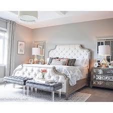 Tufted Headboard Bed India Green Frames Gray Queen Bedroom Set ...
