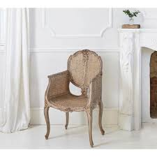Chateauneuf Rustic Rattan Chair Bedroom Chair Rattan And Bedrooms