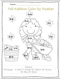 Spring Color By Number Printables Spring Coloring By Number ...