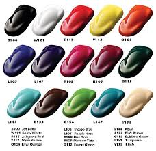Ppg Candy Paint Color Chart Best Picture Of Chart Anyimage Org