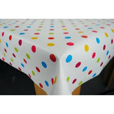 polka dot tablecloths polka dot plastic tablecloths spotty tablecloth black and white polka dot round tablecloth