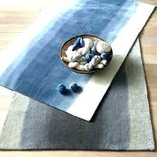 teal rug blue area runner interesting dye west elm rugs target outdoor