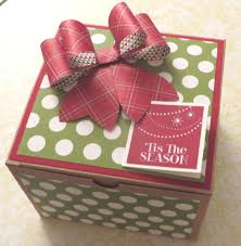 Extra-Large Kraft Gift Box with Gift Bow