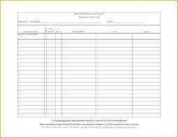 Hours Sheet Template Tracking Volunteer Hours Template Spreadsheet Form Community