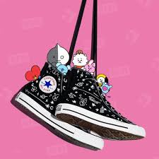 Bts Puma Shoes Size Chart Converse X Bt21 Chuck Taylor All Star High Bts Bangtan Boys