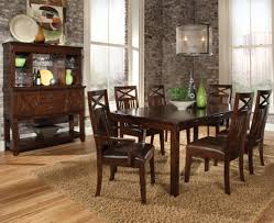 Sonoma  Piece Dining Table And Chairs Set By Standard Furniture - Dining room sets tampa