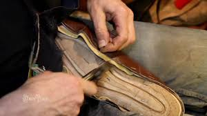 your shoe in the making