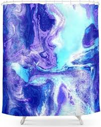 purple and blue shower curtains. Plain Curtains Swirling Marble In Aqua Purple And Royal Blue Shower Curtain On And Curtains R