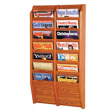 magazine rack office. A Wooden Magazine Rack Helps Keep All Those Things Organized And Looking Tidy. Office I