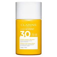 Clarins Solaire <b>Minéral</b> Visage Cолнцезащитный флюид для лица ...