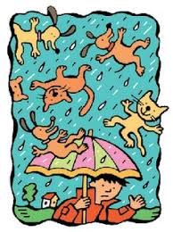 raining cats and dogs clipart.  Dogs 8 Fun Things To Do With Idioms Inside Raining Cats And Dogs Clipart C