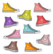 converse shoes clipart. red converse shoes clipart a