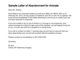 letter of abandonment sample letter 30 day notice to vacate