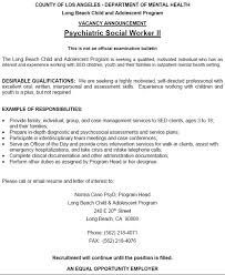 Psw Cover Letter Examples Letter Of Recommendation