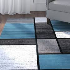 blue and grey area rug blue grey white area rugs