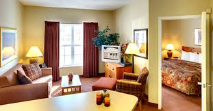 One Bedroom Apartment Style Hospitality Interior Design CrestHill Suites  Syracuse NY