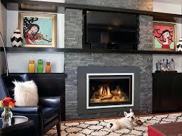 fireplace inserts gas modern gas fireplace inserts ventless