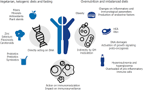 Role Of Diet And Gut Microbiota On Colorectal Cancer